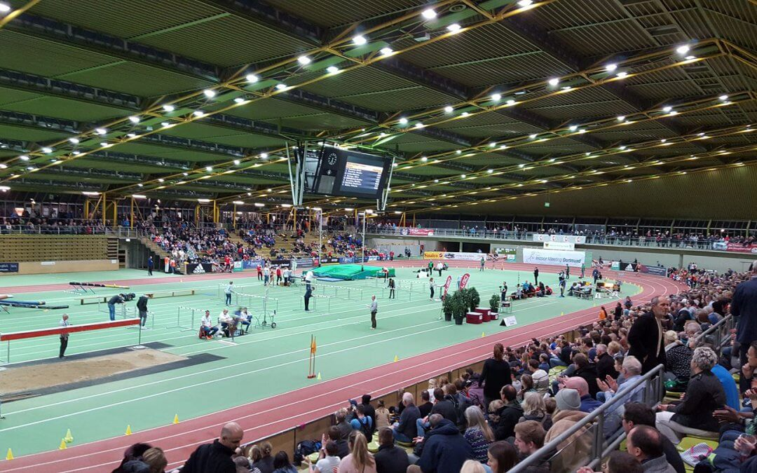 Indoor Meeting Dortmund resulteert in puike resultaten