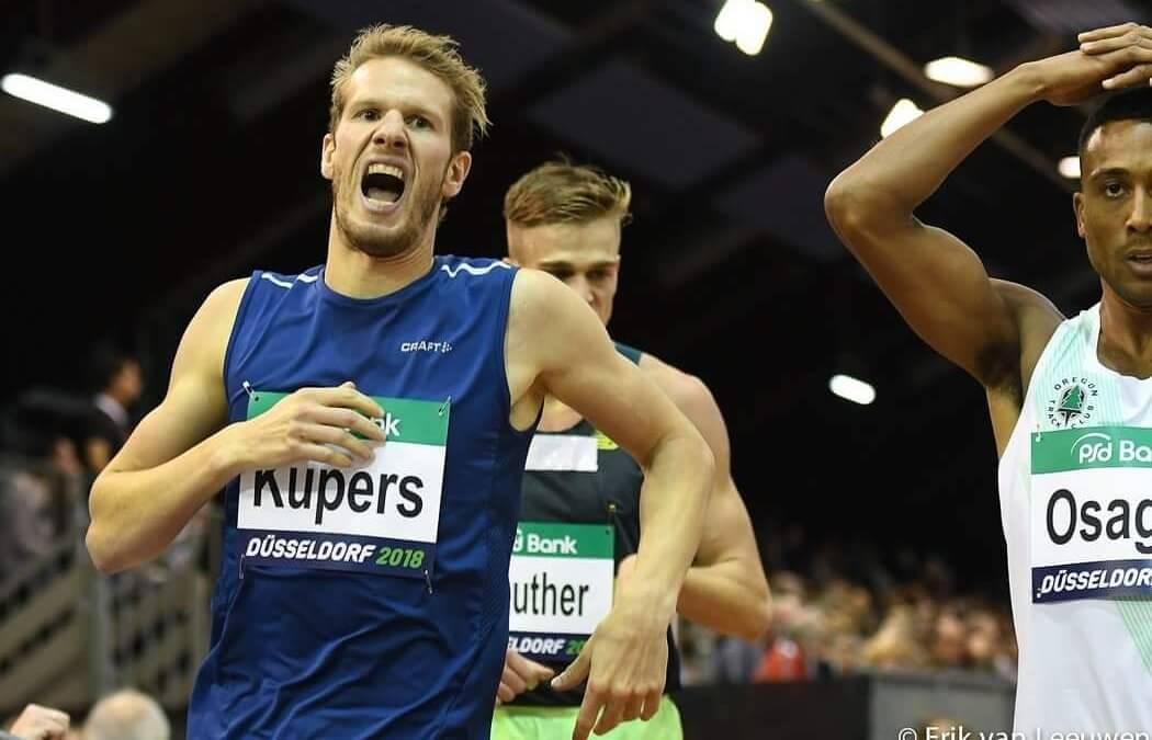 Thijmen Kupers verbetert season's best in Düsseldorf