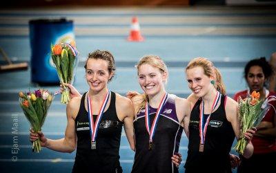 NK Indoor dag 1: Podiumplaatsen op de 3000 meter voor De Jong en Jansen