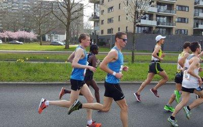 Marathon debuut voor Edwin Slijkhuis mondt uit in teleurstelling