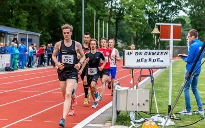 Jacelyn Gruppen met haas Jordy Dikkers naar winst in BB Lopers Baan Classic