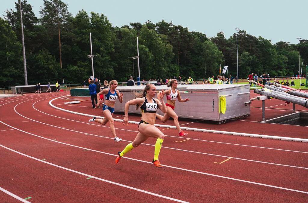 Jurdzinski in actie bij Niedersachsen Meisterschaften