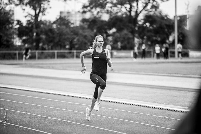 Voorrips op de 1500 meter in Kortrijk; Van Vliet tweede in Grootebroek