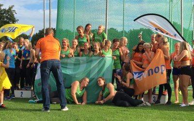 Dames Team 4 Mijl helpen Groningen Atletiek naar promotie