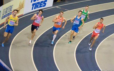 EK indoor: Kupers komt een teenlengte te kort voor de halve finale