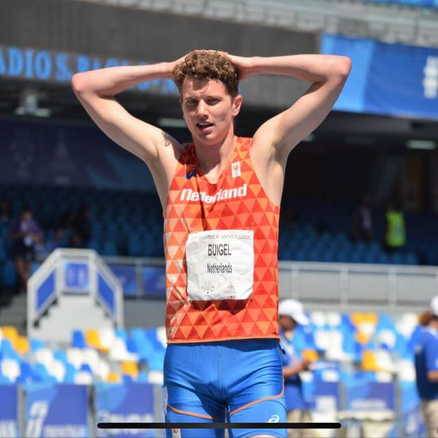 Buigel gaat internationale strijd aan tijdens Universiade in Napels