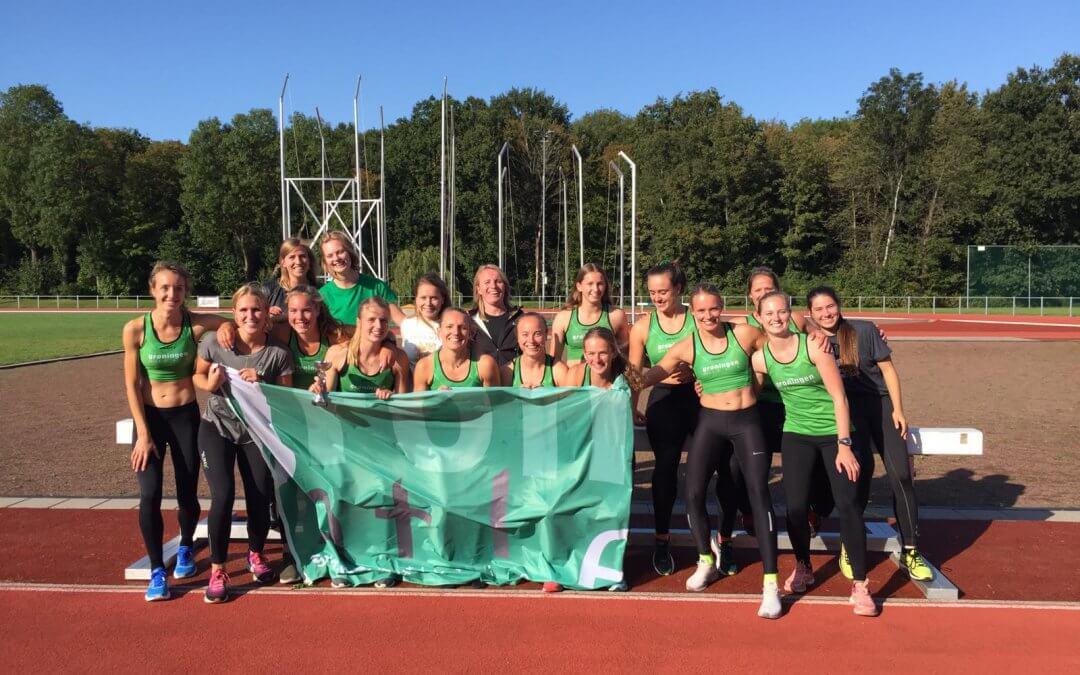 Winst en promotie dames Groningen Atletiek