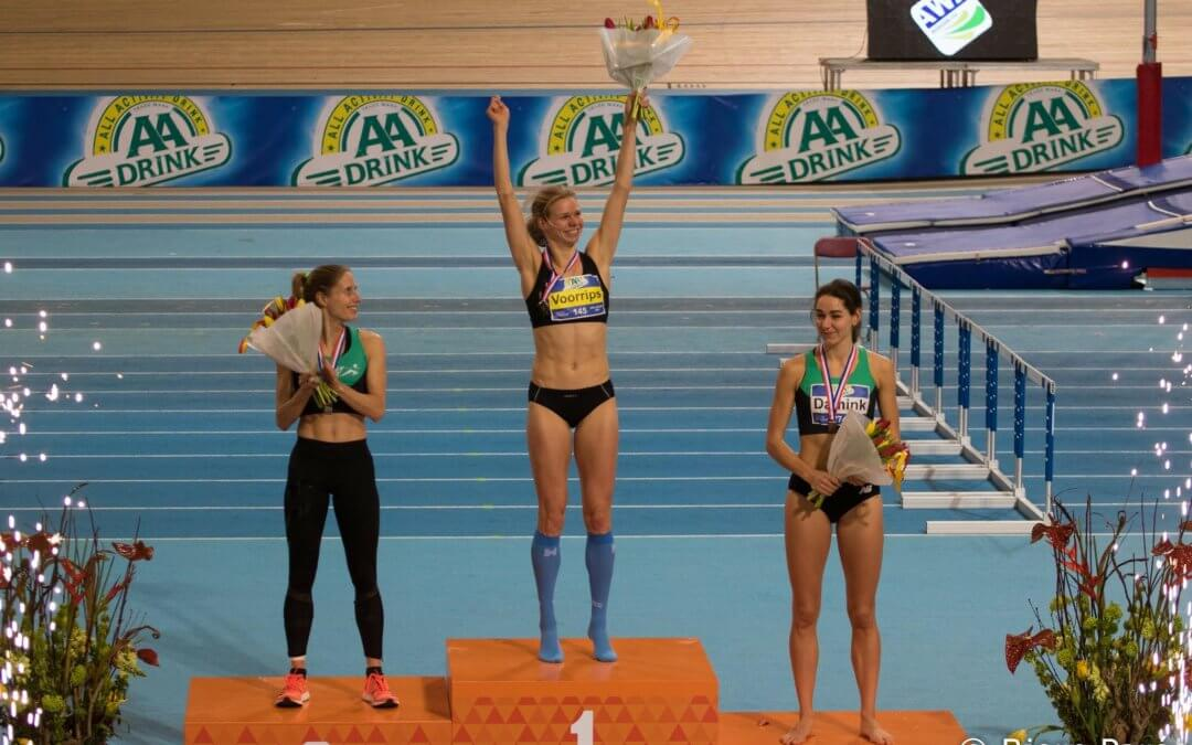 NK indoor dag 2: Voorrips Nederlands kampioen, brons voor Van Vliet