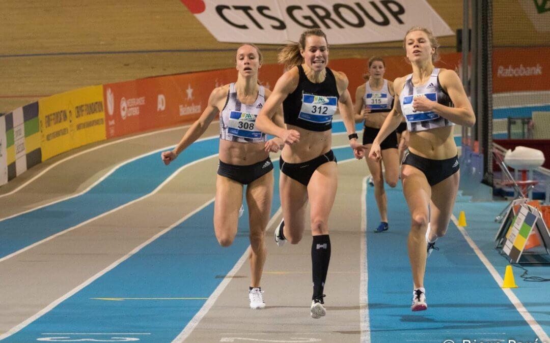 Invitatiewedstrijd atletiekunie is podium voor persoonlijke records