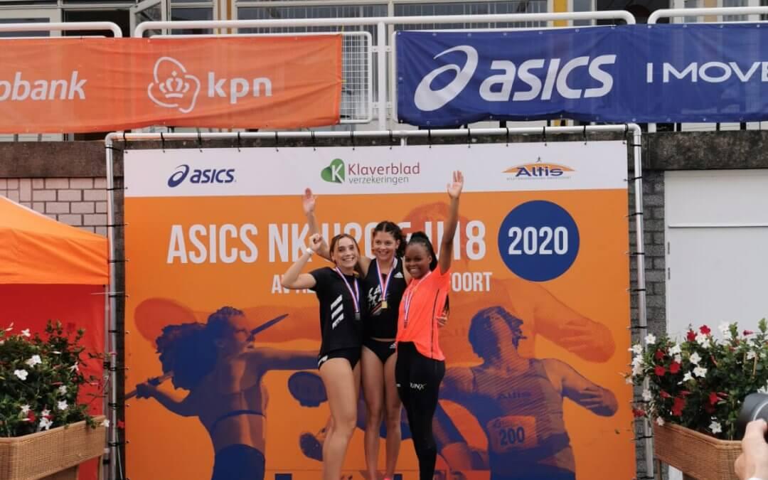 Kwasiba sprint naar bronzen medaille op NK junioren; Winst voor Team 4 Mijl in Assen en Tilburg