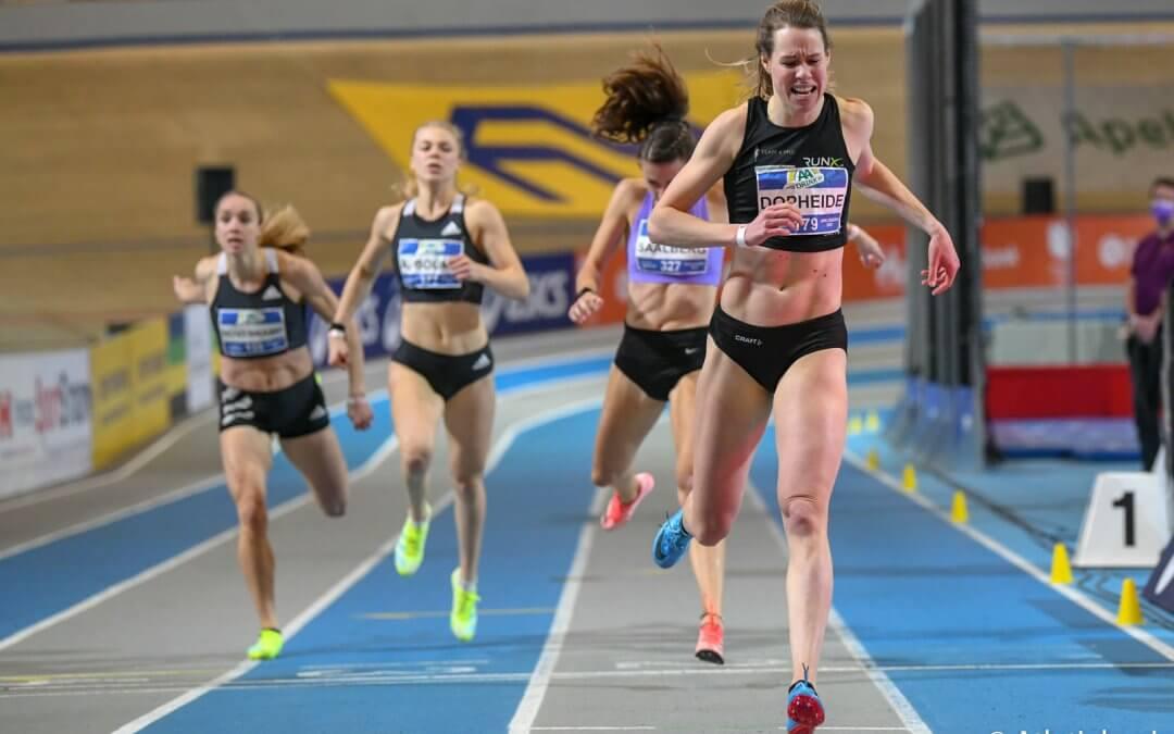 NK atletiek dag 2; zilver en brons