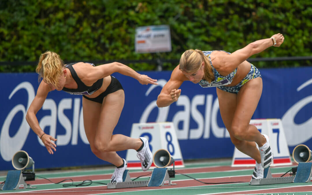 NK atletiek dag 3: Van Vliet schittert