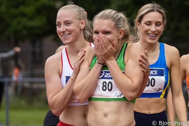 Zilver voor vrouwen Groningen Atletiek; pr's sneuvelen in Heusden